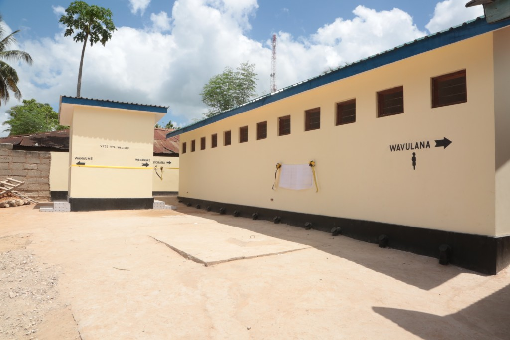 AFTER-NEW TOILET BLOCK
